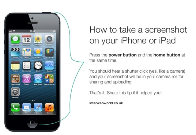 iPhone Screenshot tip